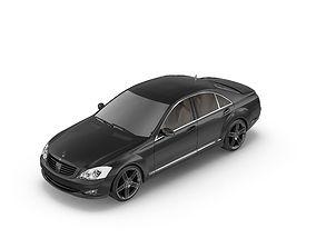 Mercedes s500 3D asset