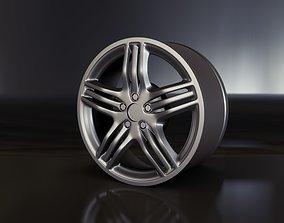 Car rim Mercedes AMG 3d model tire