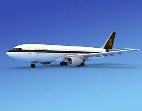 3D model Airbus A300 UPS 2