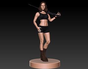 3D printable model Female Sniper