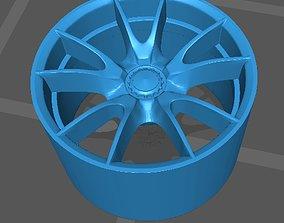 1 64 scale Porsche 997 GT3 Wheels 3D printable model
