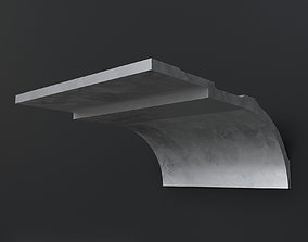 architectural NMC Cornice AD22 ARSTYL 3D model