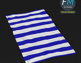 3D model Beach towel 1