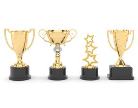 3D Cups Trophy