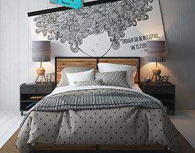Bed 1 3D furniture