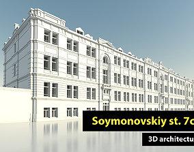 Soymonovskiy st 7c1 3D model