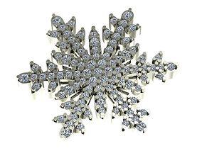3D print model Snow Flake Bracelet - Necklace