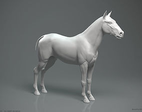 Horse - Highpoly Sculpture 3D model