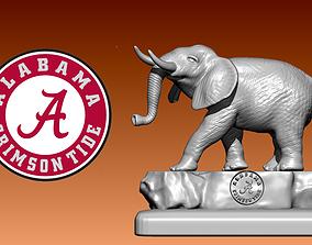 3D print model Statue The Alabama Crimson Tide football 4