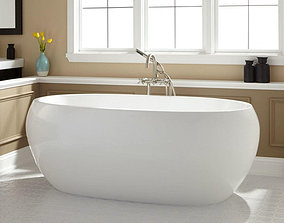 Freestanding Bath-HENDERSON ACRYLIC 3D model