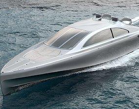 3D model Silver Arrow 460