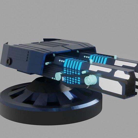Futuristic Cannon