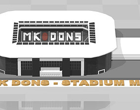MK Dons - Stadium MK 3D print model