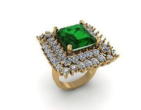 princess cut wedding ring 3D printable model
