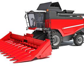 farming Combine Harvester 3D
