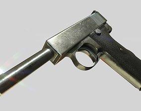 3D model Webley 1913 PBR