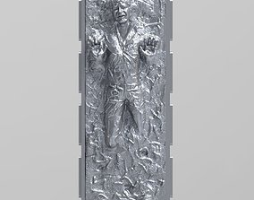 Han solo carbonite 3D print model