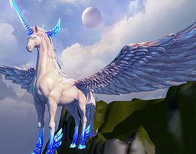 3D asset unicorn