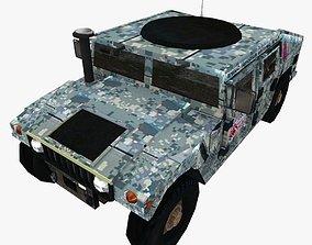 3D model Hummer HMMWV