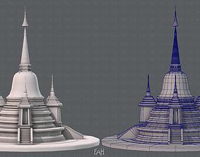 3D model realtime Pagoda V02
