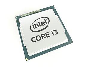 3D model Intel CPU i3 v1 003