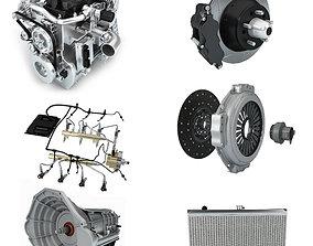 Car parts 3D gear