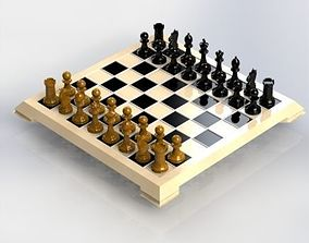 3D printable model Chess Set 3dprinting