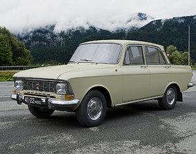 AZLK Moskvitch-412IE 1972 3D model