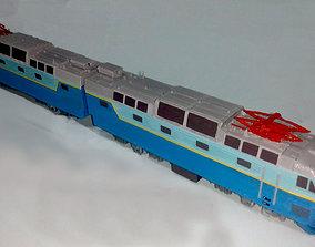 CHS7 locomotive train 3D printable model