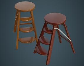 3D model Step Ladder 2A