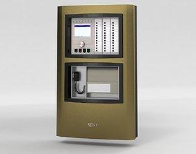 3D Est3x fire alarm panel