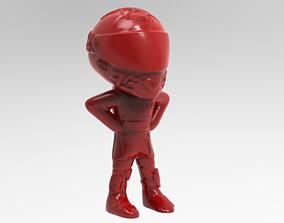 3D printable model toy marc marquez mm93 cuerpo