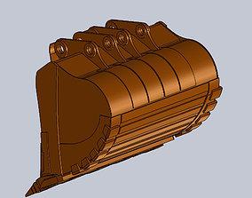 3D Bucket Hitachi ZX2600