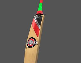 Cricket Bat 3D model realtime