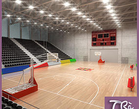 3D model BASKETBALL PAVILION 3