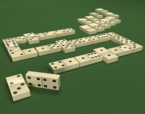 dominoes game 3D