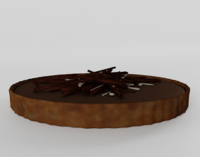 3D Noble Chocolate Cake
