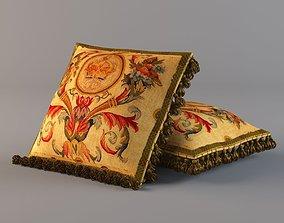 3D OG Library Firenze Tapestry Cushion