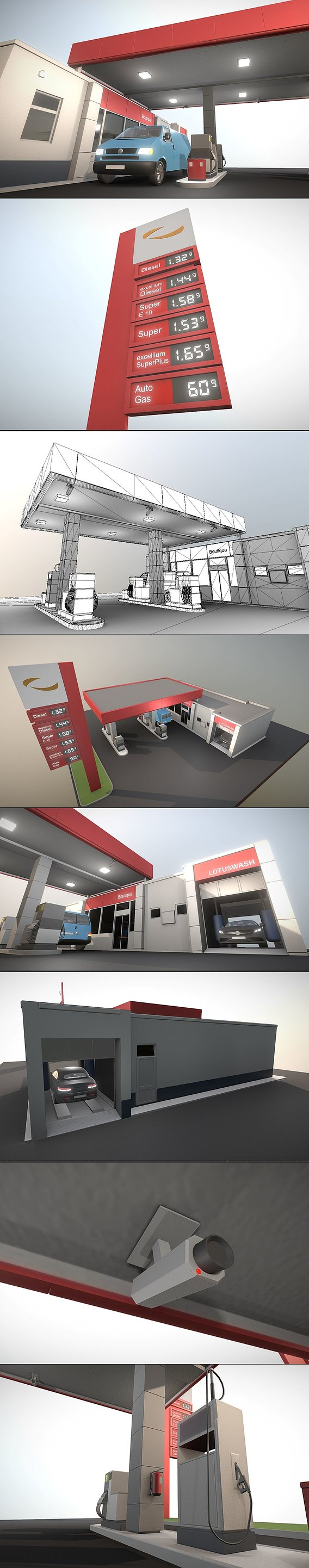 Gas Station Type-1