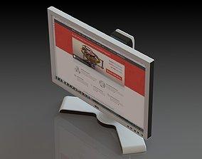 3D model Monitor Dell
