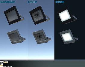 Lamps Set 2 3D asset