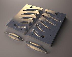 Metal jig Mold Model 01