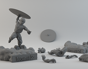 3D print model Krilin figure