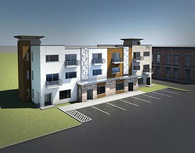 Condo - Office - Apartment Building 3D