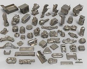 Kit bash - 57 pieces - collection-25 3D model