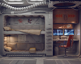 sci fi rooms and textures 3D