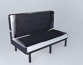 3D model elliot bench houses the world