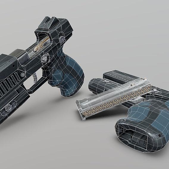 HW-10mm Enforcer Sidearm