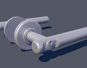 3D Door Lever Round