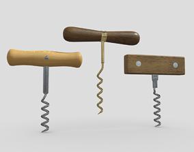 Corkscrew Pack 3D model